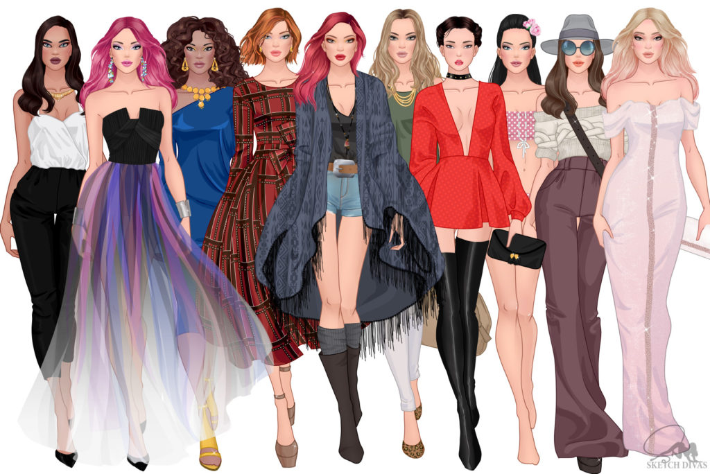 Fashion-illustrations-collection